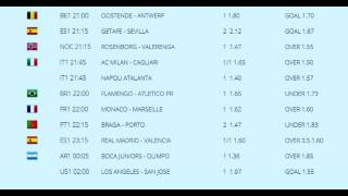 soccer tips of the day %70 successful