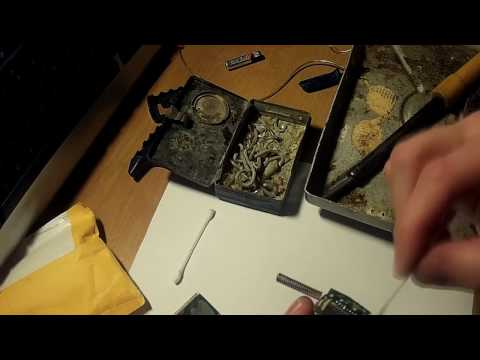 Видео: Замена разбитого дисплея на брелке автосигнализации SCHER-KHAN MAGICAR 6