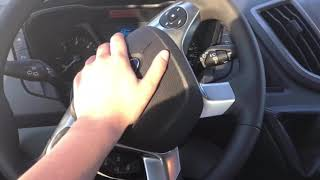 Ford Transit 2017 Hupe/Autohupe/ Car Horn/ Außen und innen / outside and inside