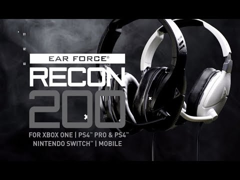 TURTLE BEACH RECON 200 REVIEW!! ARE THEY THE BEST TURTLE BEACH? SHOWING MY GAMING HEAD PHONES.