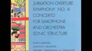 ROBERT WARD (1917-2013): Symphony No. 4 (1958): Movement III (Vivo)