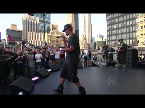 JayZ Feat Eminem  Renegade  @ Late Show with David Lettermanmkv