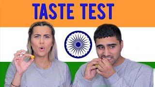 TASTE TEST   PAKISTANI-CANADIANS TRY INDIAN SNACKS!!