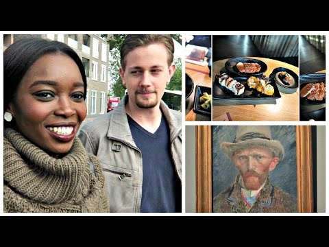 Who eats 5 rounds of food? | Van gogh | Rijksmuseum Amsterdam Vlog #028