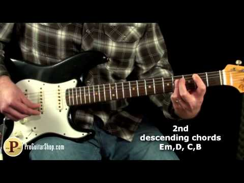 David Bowie- China Girl Guitar Lesson