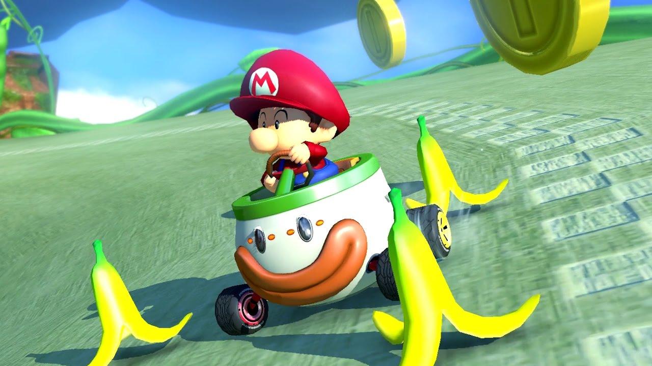 Baby Mario Mario Kart 8