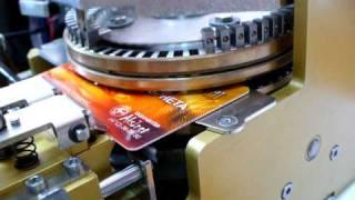 видео Пластик для производства коммерческих карт