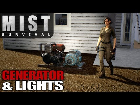 GENERATOR & LIGHTS | Mist Survival | Let's Play Gameplay | S01E11