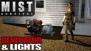 GENERATOR & LIGHTS | Mist Survival | Let