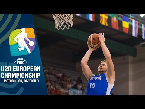 Slovakia V North Macedonia - Full Game - FIBA U20 European Championship Division B 2019