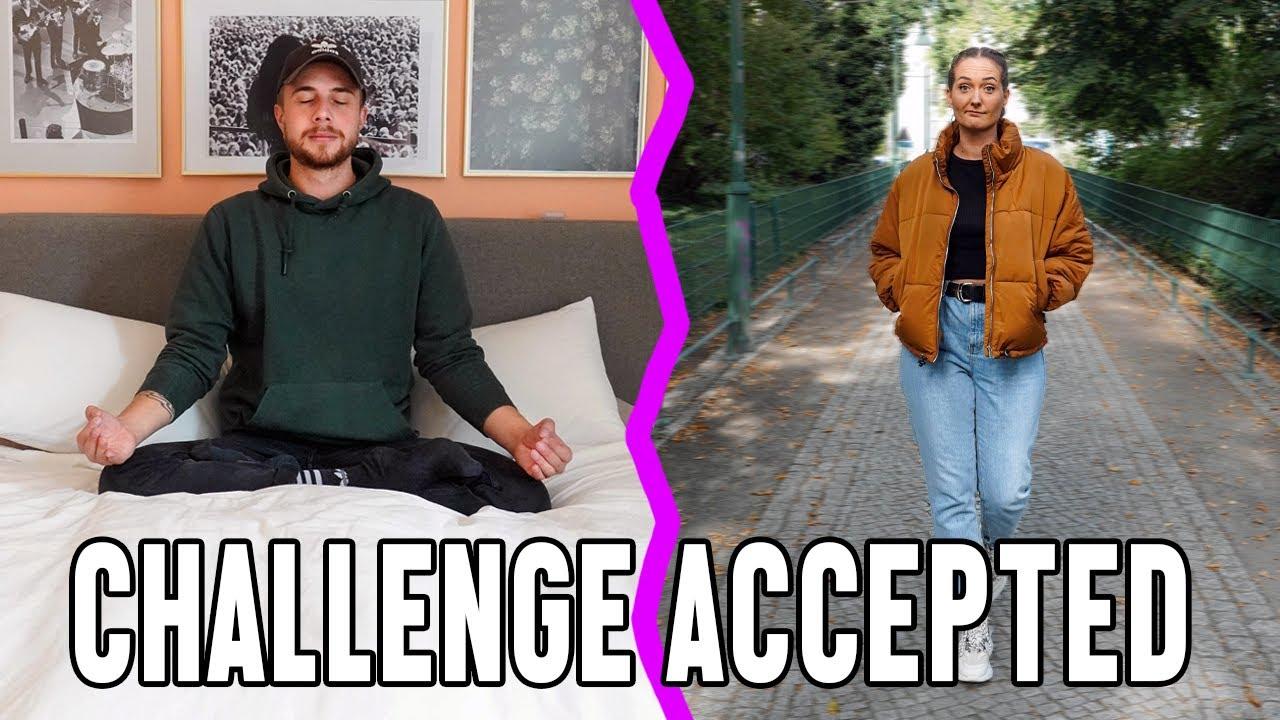 Wir müssen eine Woche lang machen, was der andere sagt 🔥#ChallengeAccepted 1