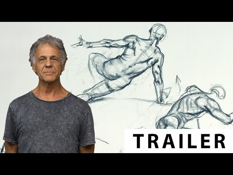 Figure Drawing With Karl Gnass | Part 4: Anatomy - TRAILER (Ultra HD 4K)