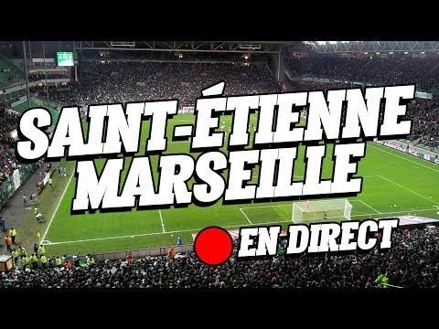 Le live du match Saint-Etienne / Marseille
