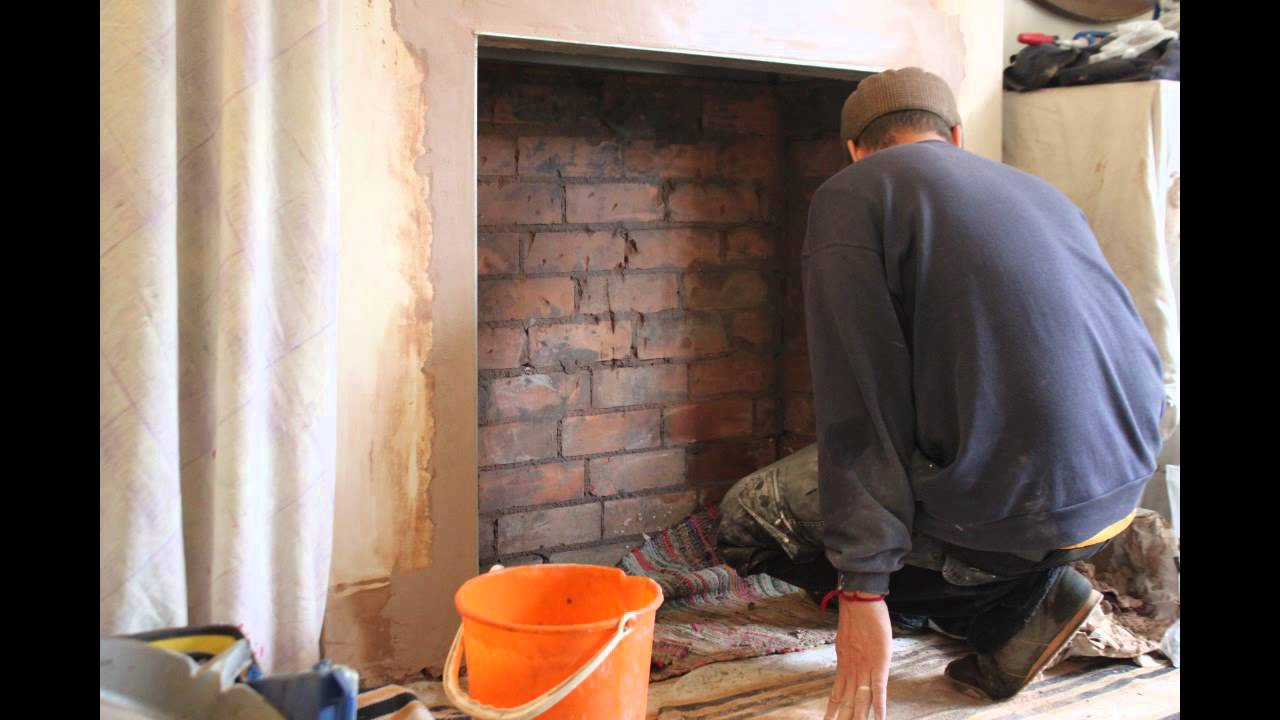 fireplace breakout and installation of charnwood country 4 youtube