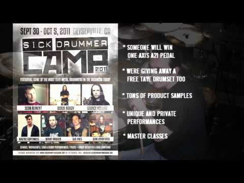Sick Drummer Camp 2011 - Axis Percussion - Camp Pass Giveaway!
