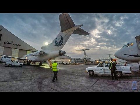 Iran Aseman Airlines 727-228 Adv Teheran-Mehrabad THR to Mashad MHD