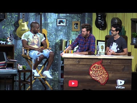 Vidcon 2017 | Good Mythical Morning interviews Youtube CEO and Swoozie!!