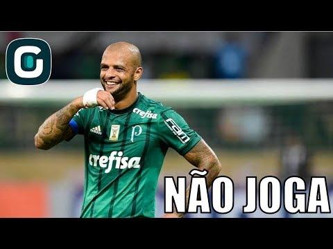Felipe Melo E Guerra São Desfalques No Palmeiras- Gazeta Esportiva (29/05/18)