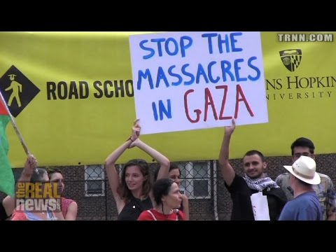 From Palestine to Baltimore, Protesters Demand an End to Bloody Gaza Assault