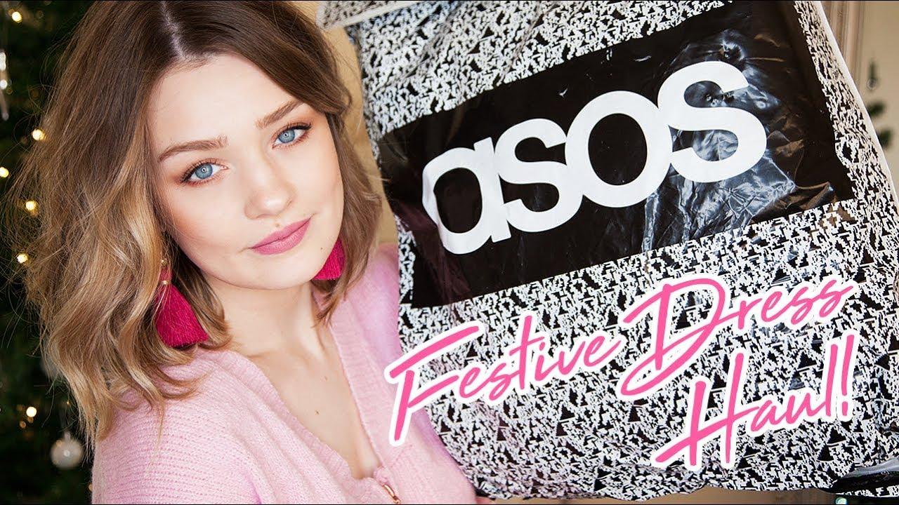 2dfa8ff371c70d ASOS DRESS HAUL & NEW HAIR! | Laura Bradshaw - YouTube