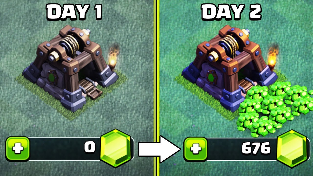 10 Ways How To Get Free Gems In Clash Of Clans No Cash Hack Cheat Get 1000s Of Gems In 1 Day Youtube