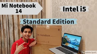 Mi Notebook 14 Unboxing and First Impressions | Standard Edition | Intel i5 | Review | Subtitles
