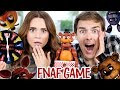 TRYING THE FIVE NIGHTS AT FREDDY S JUMP SCARE GAME Ft MatPat mp3