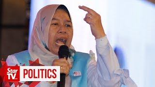 Zuraida: Azmin and I are ready in case we get fired from PKR