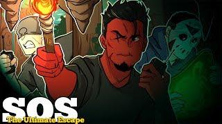 CAN WE SURVIVE? | SOS: The Ultimate Escape (w/ H2O Delirious & Ohmwrecker)