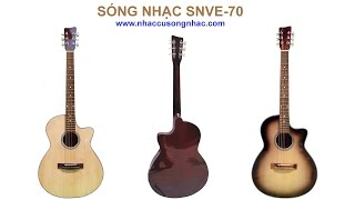 ĐÀN ACOUSTIC GUITAR SÓNG NHẠC SNVE-70