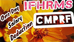 CMPRE One Day Salary Detection | New and Easy Method in  IFHRMS | |