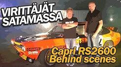 Virittäjät satamassa, Ford Capri RS2600 - Behind scenes (2015)