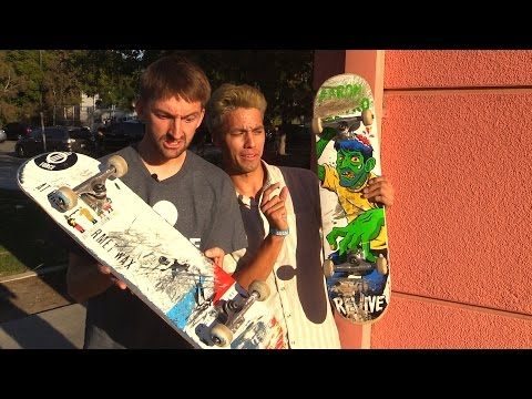 SWITCHED BOARDS SKATE | AARON KYRO VS JOHN HILL