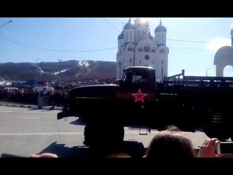 Парад техники 9 мая!!!Южно-Сахалинск