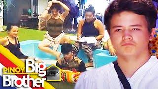 PBB7 Day 5: JK, naluha sa gitna ng kanilang practice ng bagong task