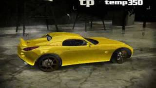 Fast and Furious NFSMW Biggest Collection Part3/3