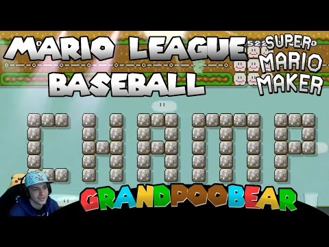 Amazing Baseball Level! Plus Bonus Mail Time! Mario Maker