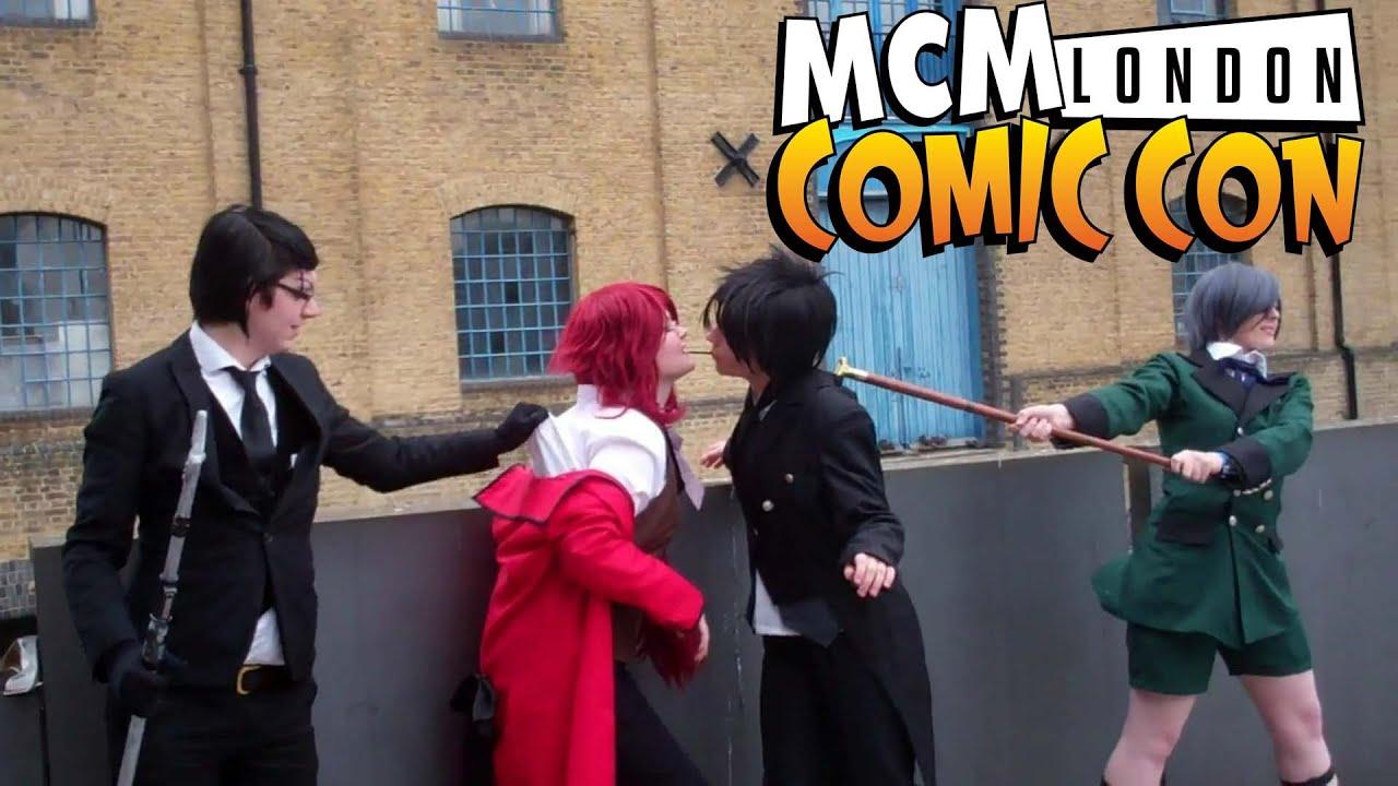 Kuroshitsuji Pocky Game May London Comic Con 2015