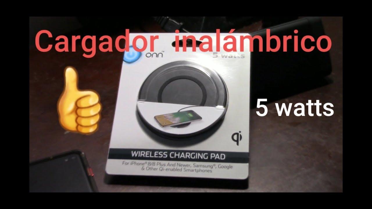 Onn Wireless Charging Pad 5 Watts Youtube