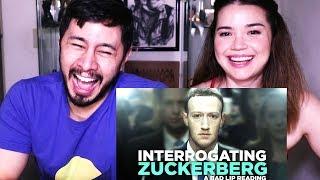 INTERROGATING ZUCKERBERG - A BAD LIP READING | Reaction!