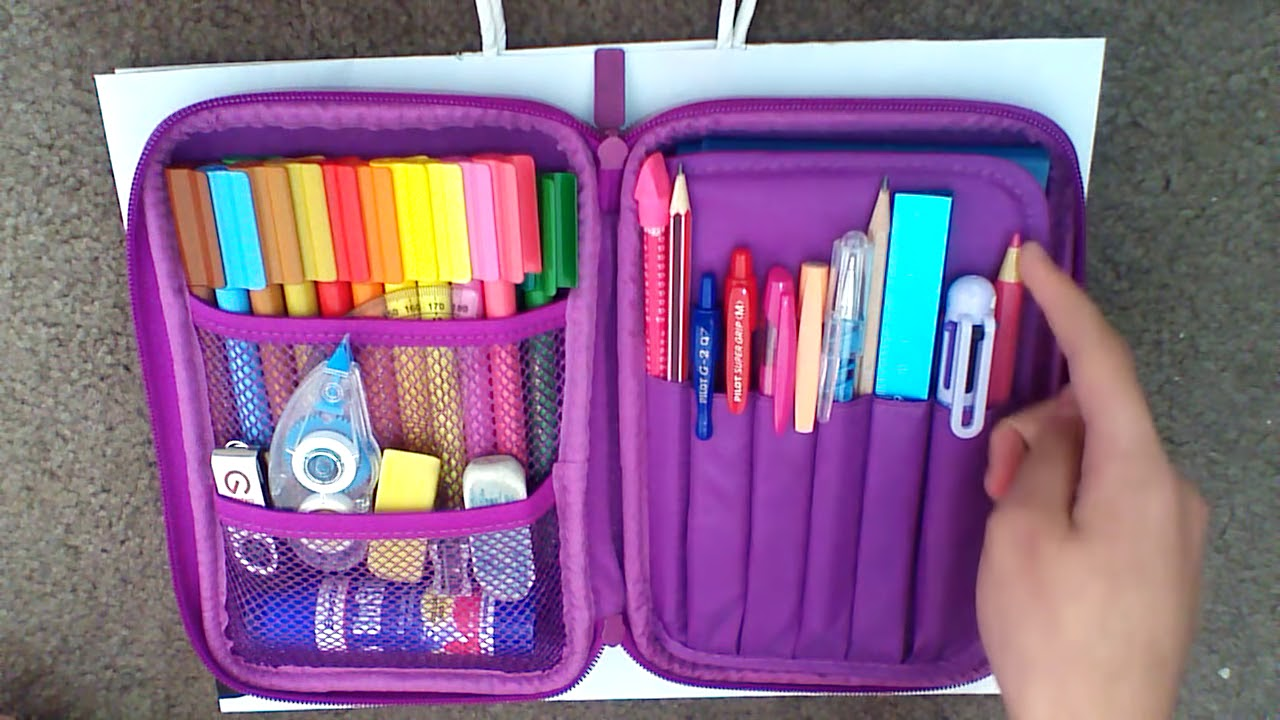HOW TO REALLY ORGANISE YOUR SMIGGLE PENCIL CASE YouTube
