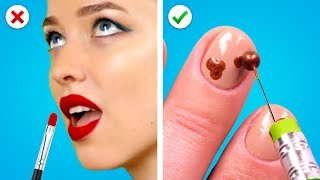 11 Nail Art Hacks Every Girl Should Try! DIY Nail Art Ideas and More