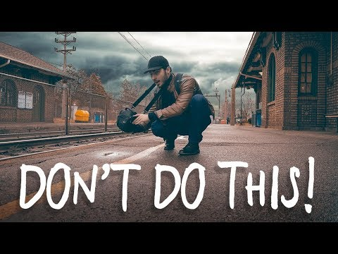 Don't Do this at a Train Station… (KICKED OFF my Train)