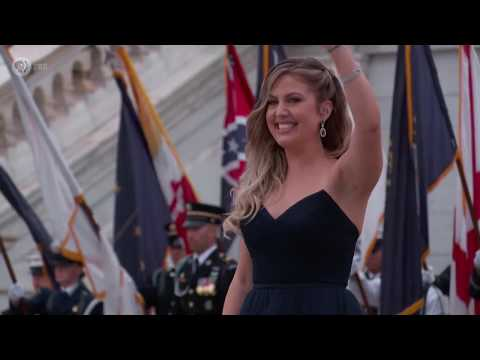 'The Voice' Winner Maelyn Jarmon Opens The Capital July 4th Celebration With The National Anthem