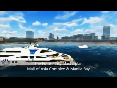 SM Prime's master plan for Manila Bay reclamation projects 2016