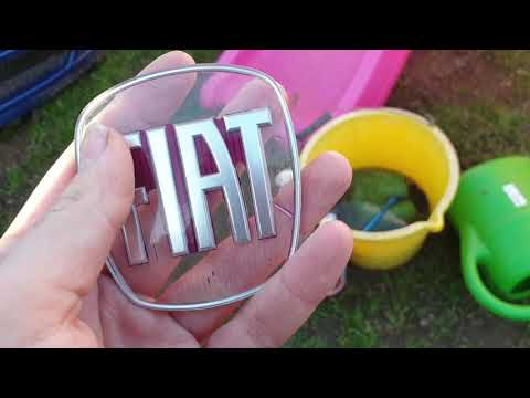 How To Customize Your Fiat Badges Easily! The Bravo Rebuild Part 5