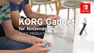 KORG Gadget for Nintendo Switch v1.2 | Share the Joy-Con, Transfer the song