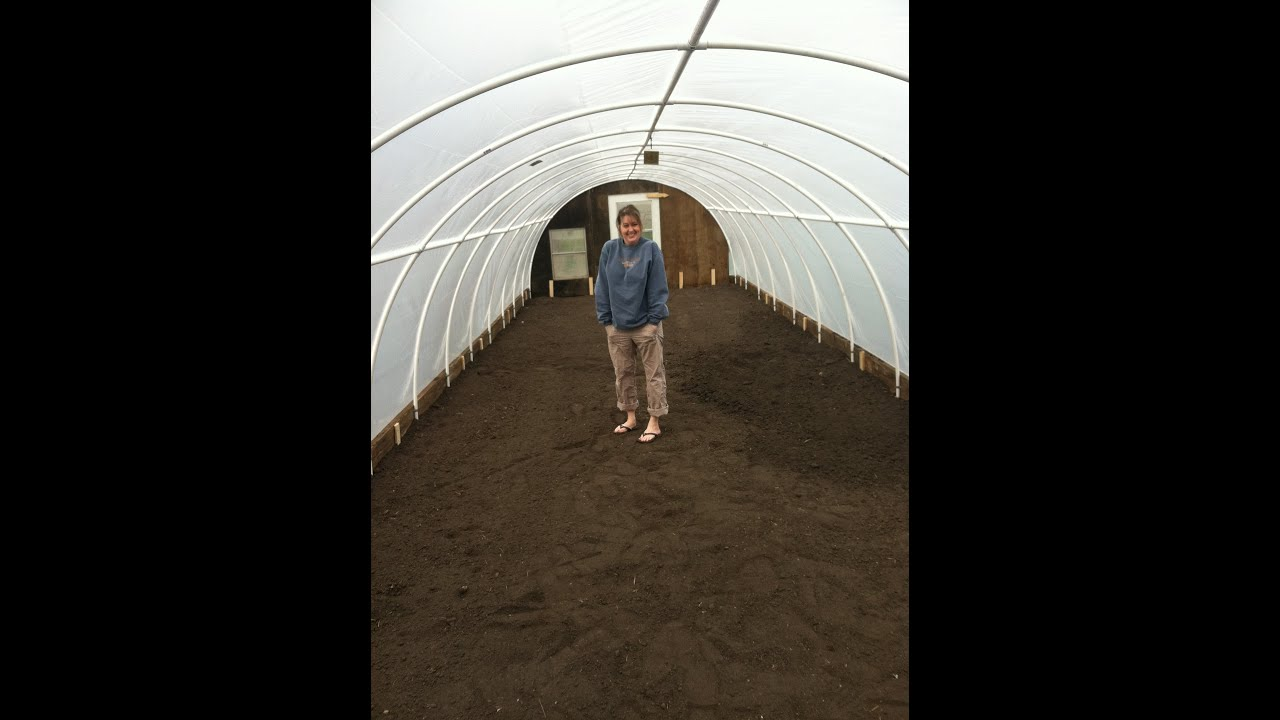 High Quality PVC Greenhouse In A Day DIY   YouTube