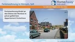 Ferienort Sylt: Ferienwohnung direkt an den Dünen der Nordsee in privat - FeWo-direkt.de Video
