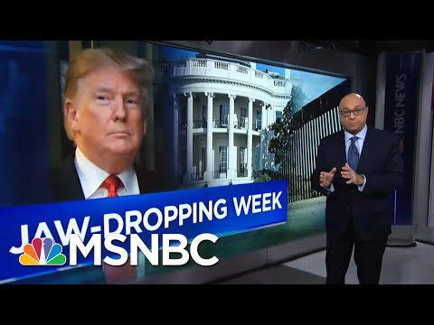 President Donald Trump's Unsettling Week In Headlines | Velshi & Ruhle | MSNBC
